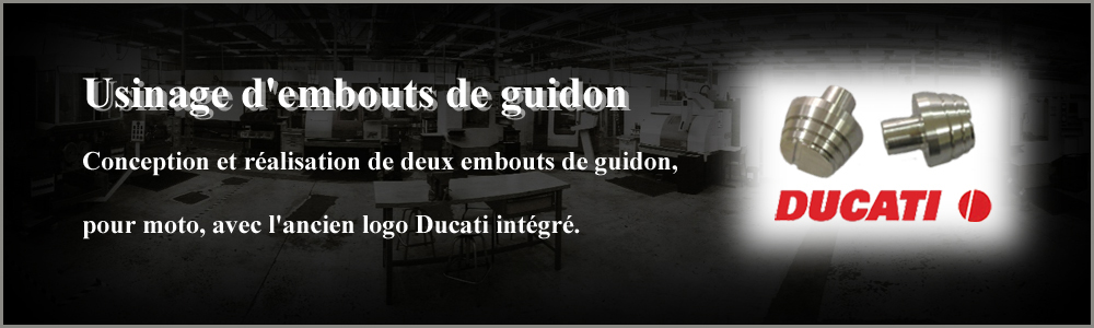 usinage embout de guidon
